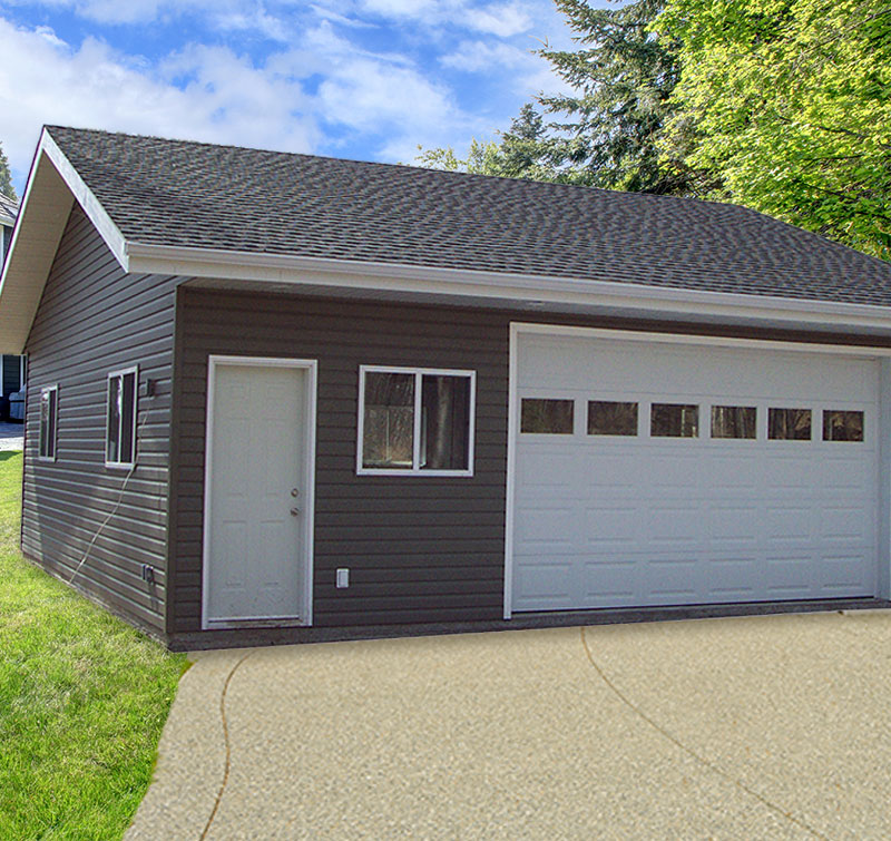Garage packages edmonton for Garage building packages